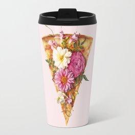 FLORAL PIZZA Travel Mug