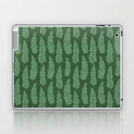 dancing ferns tropical pattern Laptop & iPad Skin