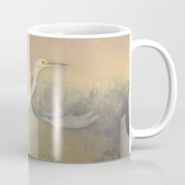Snowy Egret - Taking Flight Coffee Mug