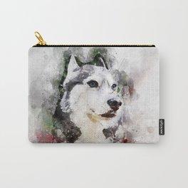 Tika'ani our Siberian Husky Carry-All Pouch