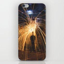 Shower of Sparks iPhone Skin