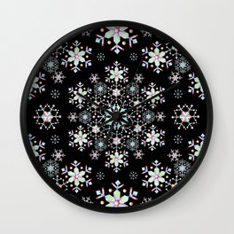 Snowflake Lace Wall Clock
