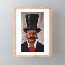 Dr Thomas Neill Cream Framed Mini Art Print