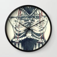 hannibal Wall Clocks featuring Hannibal by Lunzury