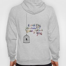 if i could fly Hoody