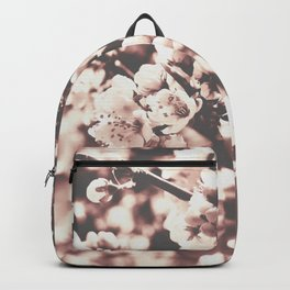 Blossoms tree monochrome Backpack