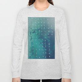 Boats on the Ocean Long Sleeve T-shirt