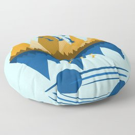 Flying South Floor Pillow