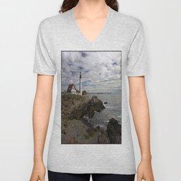 Maine Splendor Unisex V-Neck