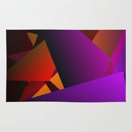 Smoke Screen Abstract 2 Rug