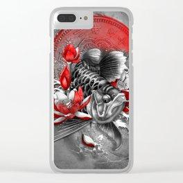 Arowana Dragon Fish Clear iPhone Case
