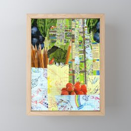 Little Red Fox Framed Mini Art Print
