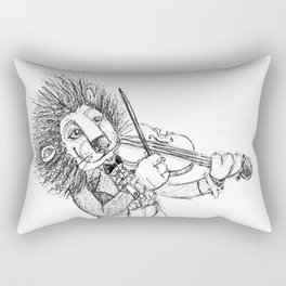 violin lion Rectangular Pillow