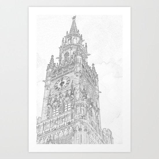 Tower of Big Ben Art Print