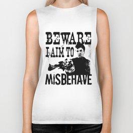 I aim to misbehave Biker Tank