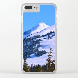 Back-Country Skiing  - IV Clear iPhone Case