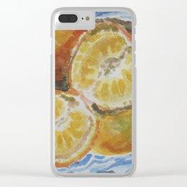 Mandarina Clear iPhone Case