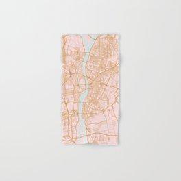 Cairo map, Egypt Hand & Bath Towel