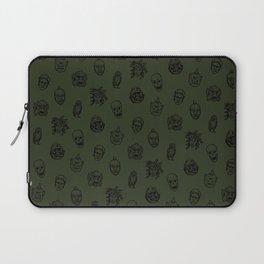 Little Monsters (green) Laptop Sleeve
