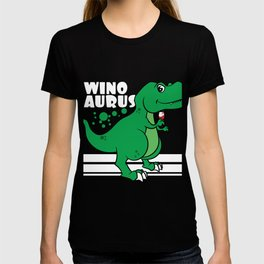 """Love wine and dinosaur at the same time? No need to choose! Grab this """"Winosaur"""" tee now! T-shirt"""