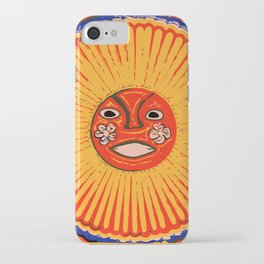 The sun Huichol art iPhone Case