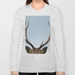 Stag antlers Long Sleeve T-shirt
