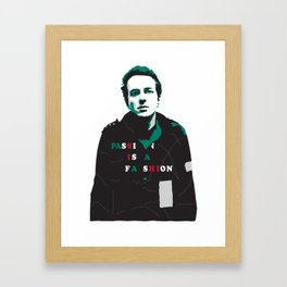 Joe Strummer Framed Art Print