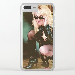 "VAMPLIFIED ""Area 51 Spy"" Clear iPhone Case"