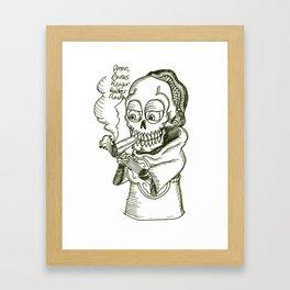 Reefer Reaper Framed Art Print