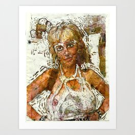 Filthiest Person Alive Art Print