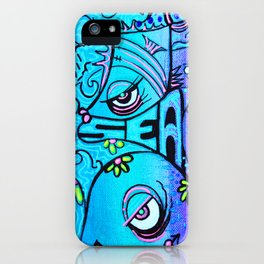 Ocean By The Sea iPhone Case