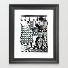 Teenage Dreams Framed Art Print