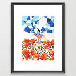 Elevándome Framed Art Print