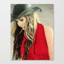 Vagabond soul Canvas Print