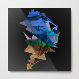 Facet Metal Print