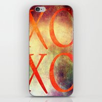 xoxo iPhone & iPod Skins featuring XoXo by Fine2art