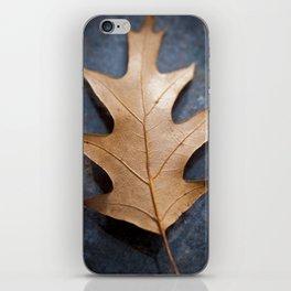 One on black iPhone Skin