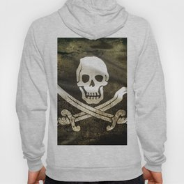 Pirate Skull in Cross Swords Hoody
