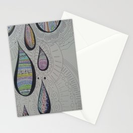 Paisley Tears Stationery Cards