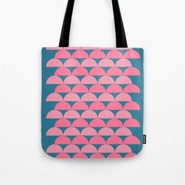 Cute Vibrant Shape Art Tote Bag