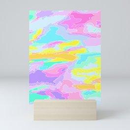 Color Collage Mini Art Print