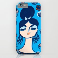 Diamonds and Pearls in Your Hair iPhone 6s Slim Case