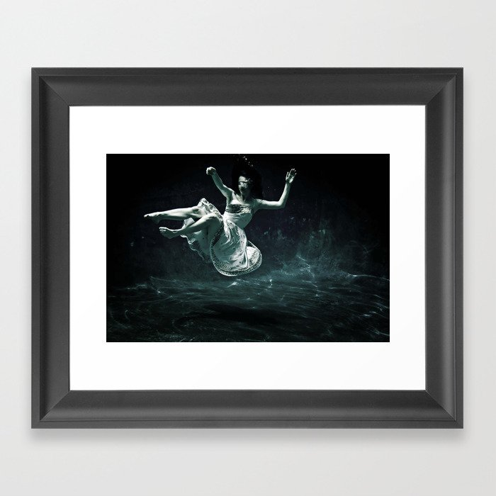 abyss of the disheartened : III Framed Art Print