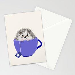 Kosher Chanukah Holiday Hedgehog Stationery Cards