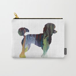Poodle Carry-All Pouch