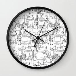 Inside a Kitchen Cupboard Wall Clock