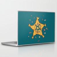 starfish Laptop & iPad Skins featuring StarFish by Lili Batista