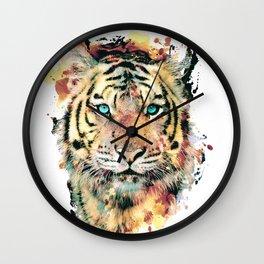 Tiger III Wall Clock