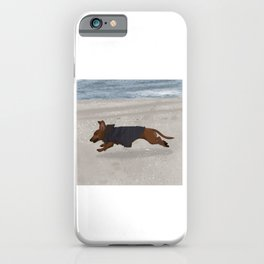 Flying Mabel iPhone Case