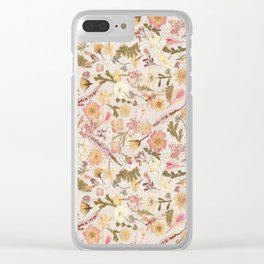 Roses and Lace Clear iPhone Case